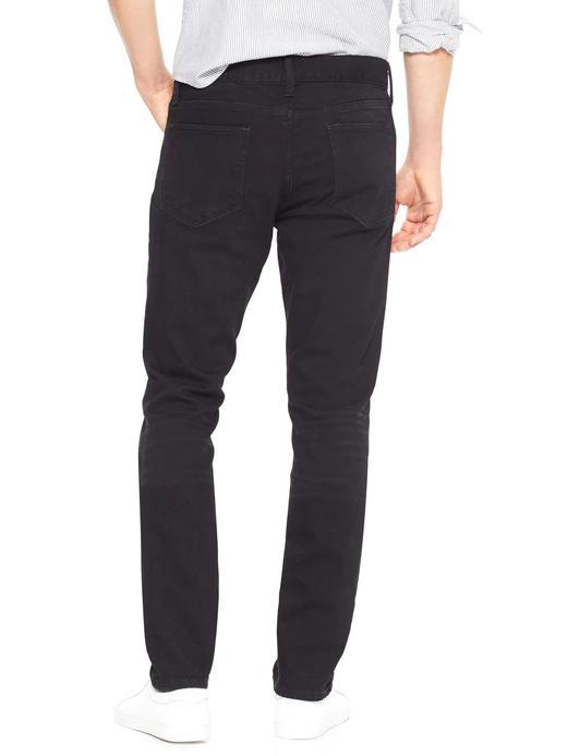 Erkek siyah Skinny Fit GapFlex Jean Pantolon