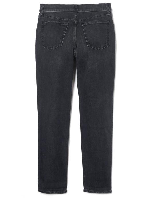 Soft Wear Siyah Yıkamalı Jean Pantolon