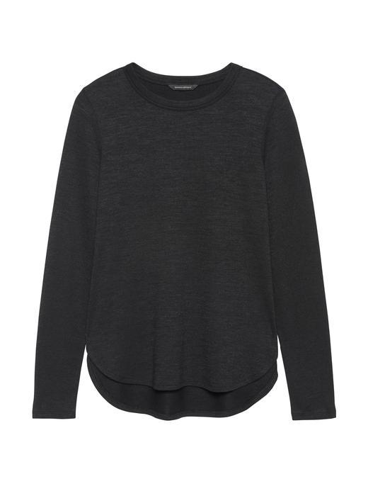 Luxespun Uzun Kollu T-Shirt