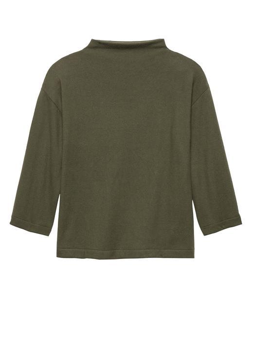 Kadın yeşil Uzun Kollu Jarse T-Shirt