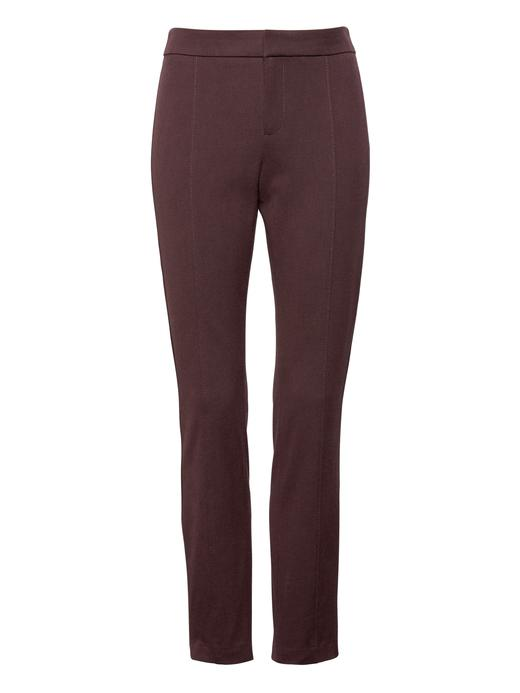 Kadın Bej Sloan Skinny-Fit Streç Pantolon