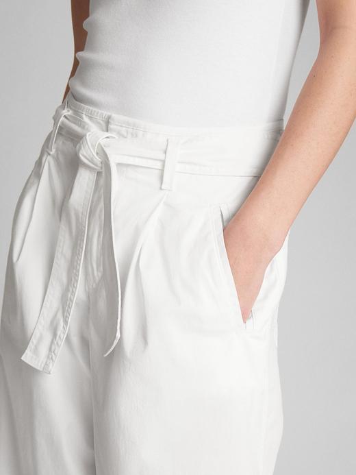 Wearlight Bol Paça Kısa Chino Pantolon