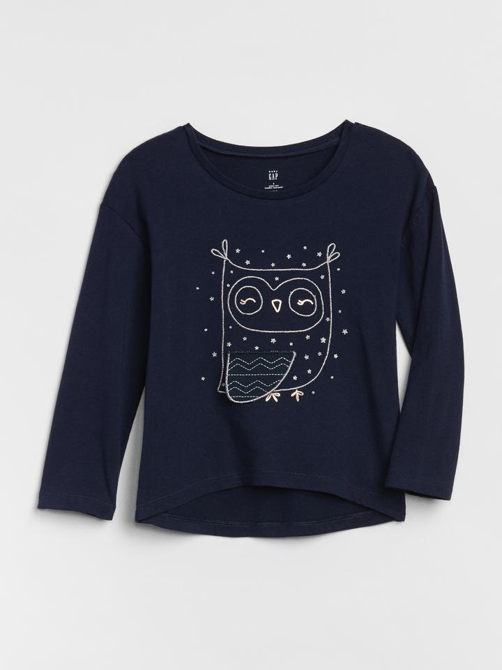 2ae01286d12 Baskılı Uzun Kollu T-Shirt