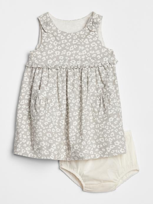 Bebek gümüş Kadife Kolsuz Elbise