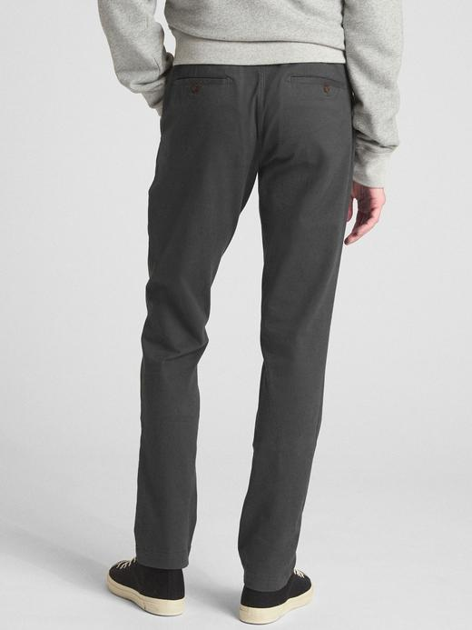 Soft Wear Slim Fit GapFlex Khaki Pantolon