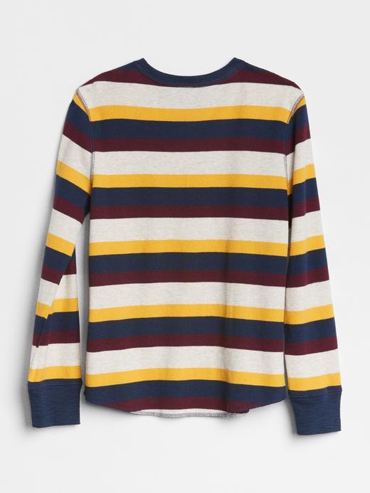 Uzun Kollu Çizgili T-Shirt