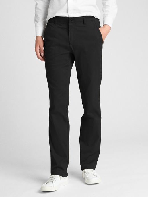 Soft Wear Slim Fit GapFlex Khaki Pantolon