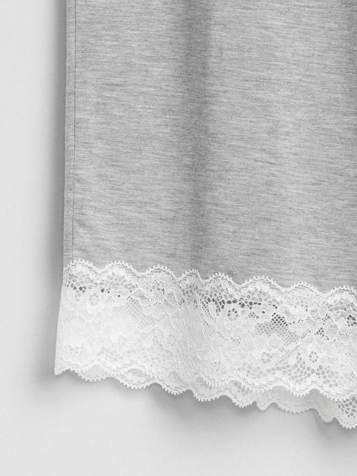 Kadın desenli gri Dreamwell Modal Karışımlı Pijama Altı