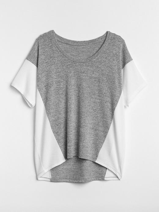 Kadın gri Softspun Kısa Kollu T-Shirt