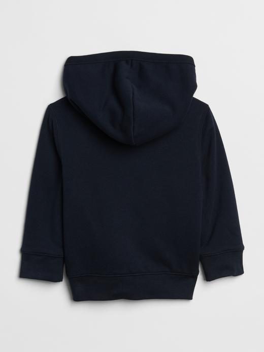 Logolu Yumuşak Dokulu Kapüşonlu Sweatshirt