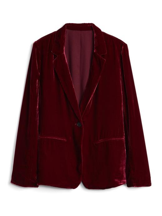 Kadife Blazer Ceket