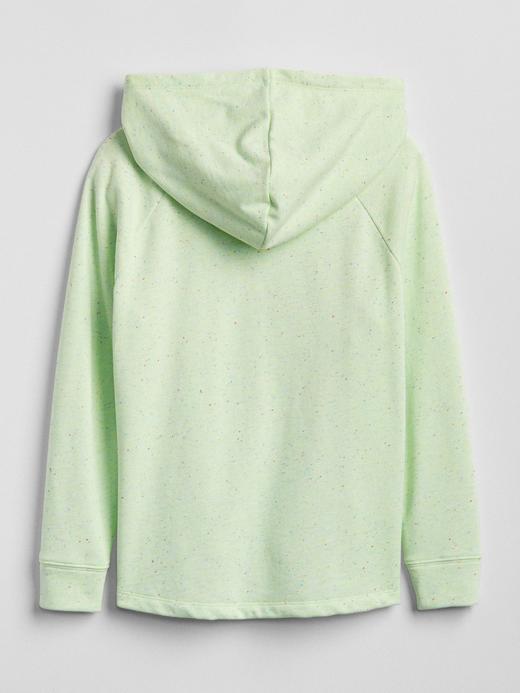 Değişen Pullu Kapüşonlu Sweatshirt