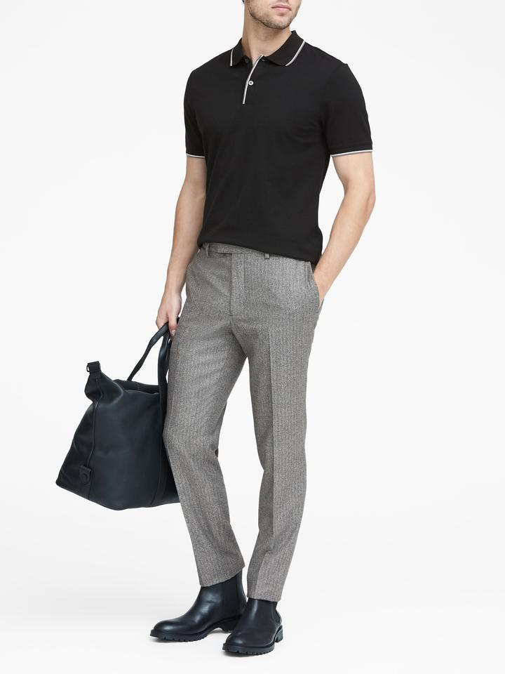 Italian Yünlü Slim Pantolon