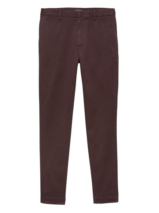 Erkek bordo BR x Kevin Love | Slim Chino Pantolon