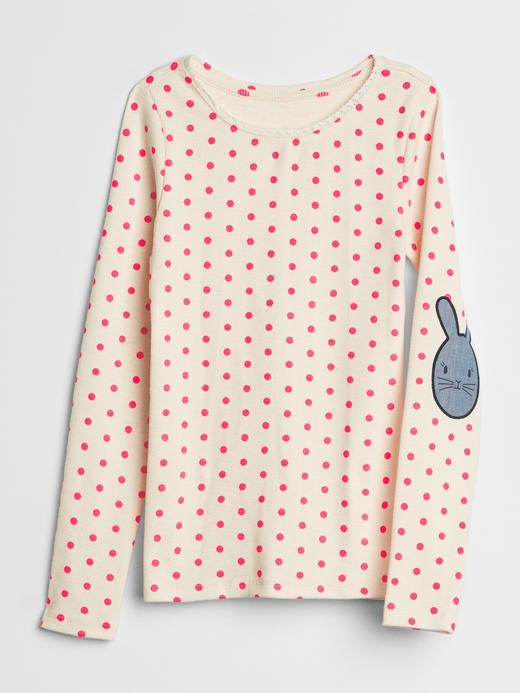 Kız Çocuk puantiyeli Gap | Sarah Jessica Parker Uzun Kollu T-Shirt