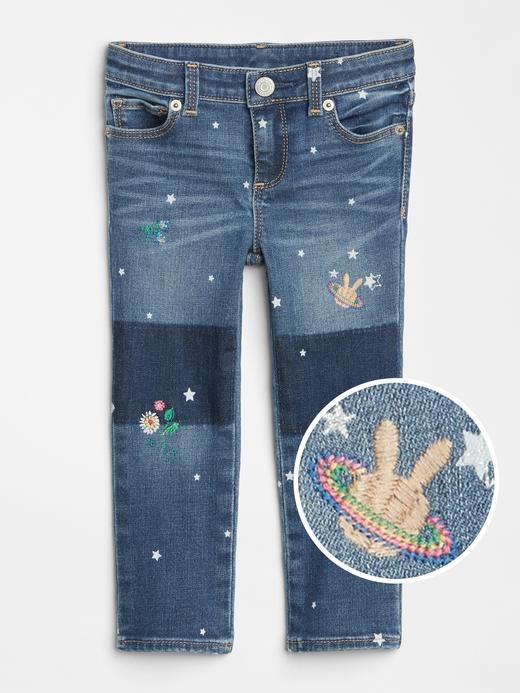 Gap | Sarah Jessica Parker İşlemeli Skinny Jean Pantolon