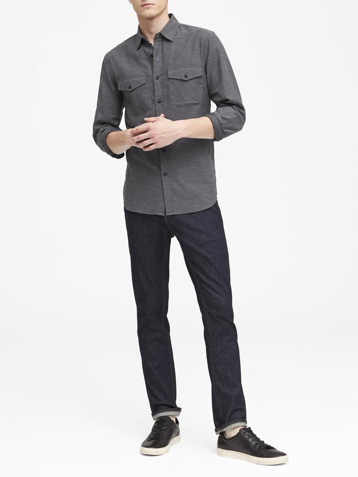 Grant Slim-Fit Uzun Kollu Gömlek