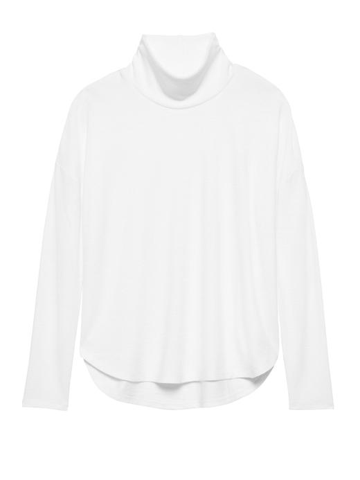Luxespun Boğazlı T-Shirt
