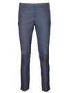 Kadın mavi Sloan Fit Desenli Pantolon