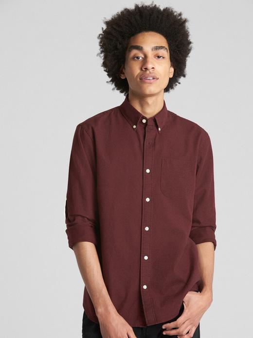 Streç Oxford Gömlek