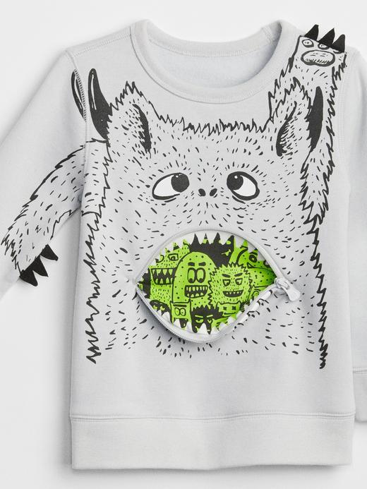 3D Baskılı Sweatshirt