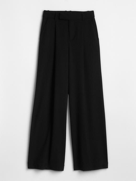 Yüksek Belli Bol Paça Pantolon