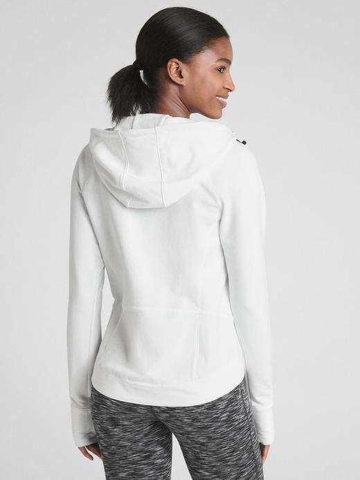 GapFit Fermuarlı Kapüşonlu Sweatshirt