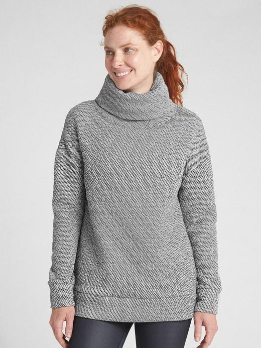 GapFit Boğazlı Sweatshirt