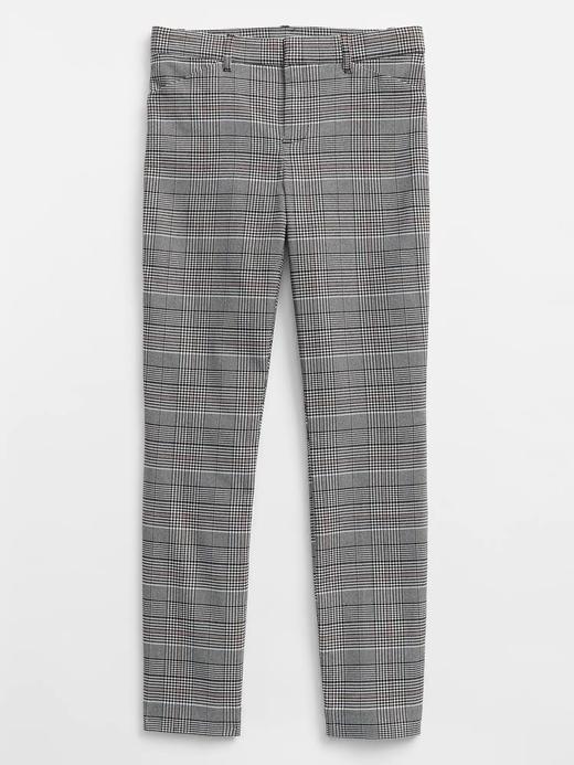 Skinny Ekose Pantolon