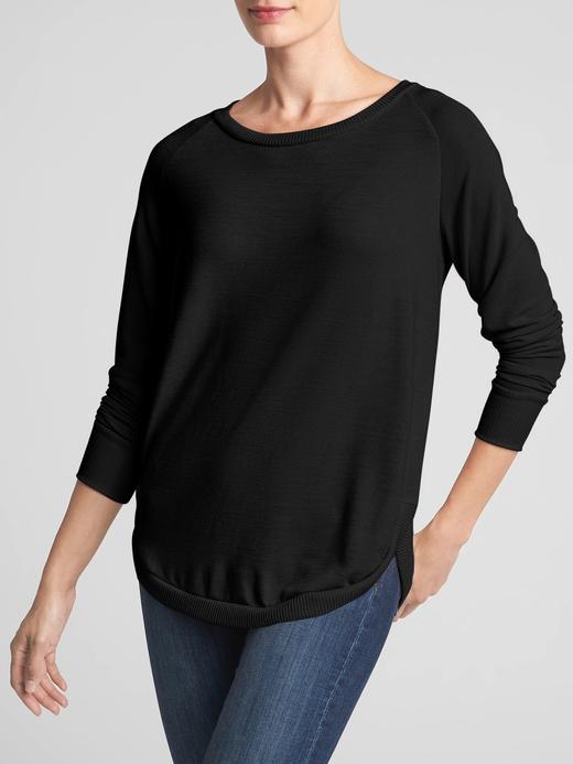 Softspun Reglan Kollu Tunik T-Shirt
