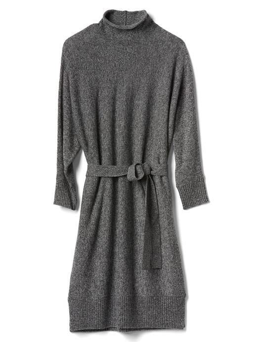 Dik Yakalı Kuşaklı Elbise