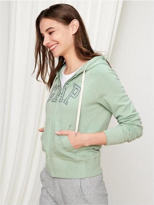 Gap Logo Pırıltılı Sweatshirt