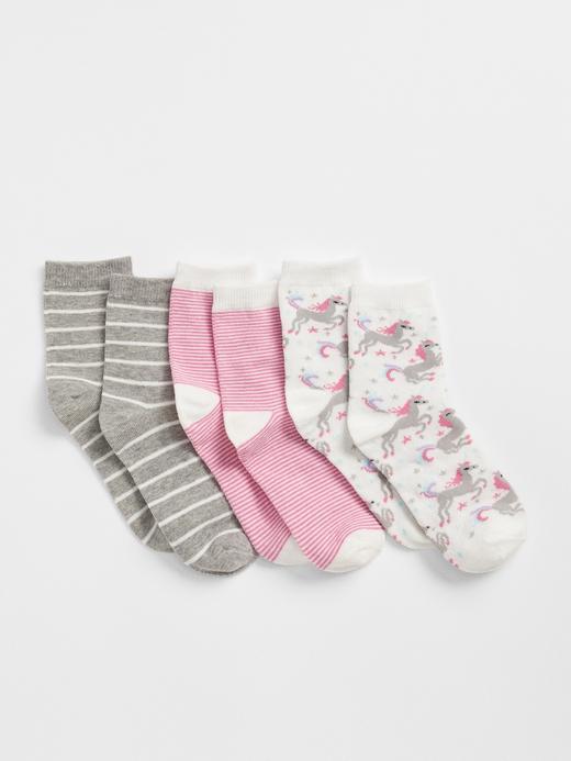 Unicorn Desenli Çorap