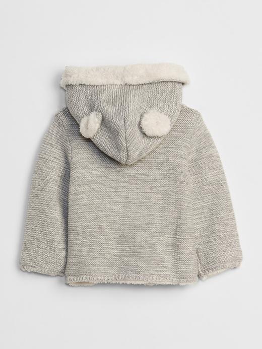Sherpa Astarlı Sweatshirt