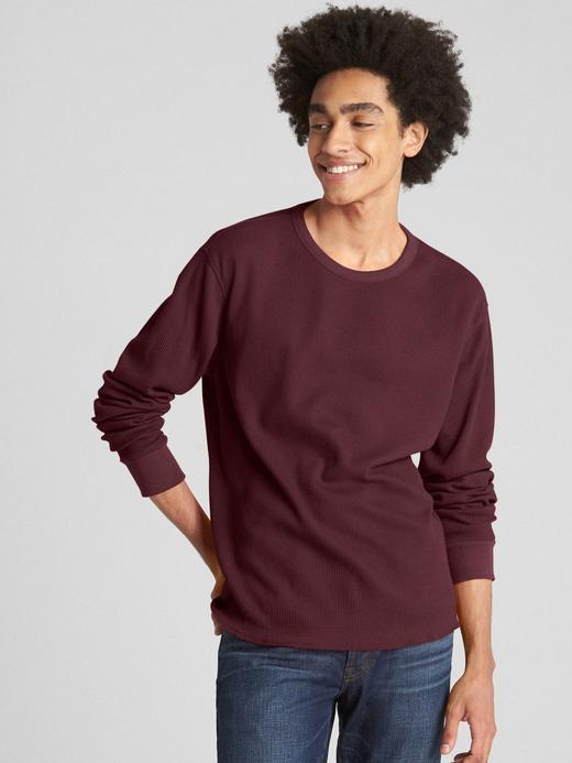 Uzun Kollu Klasik T-Shirt