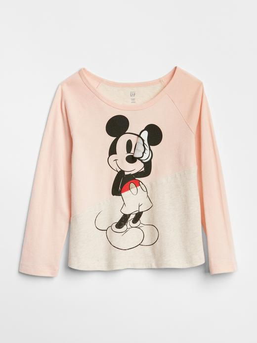 babyGap | Disney Mickey Mouse and Minnie Mouse Baskılı T-Shirt