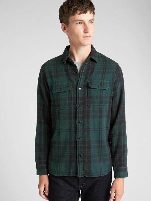 Ekose Gömlek Ceket