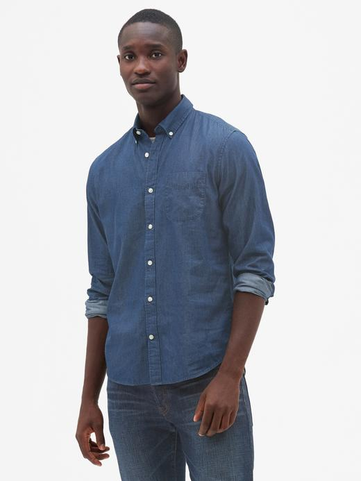 Standard Fit Denim Gömlek