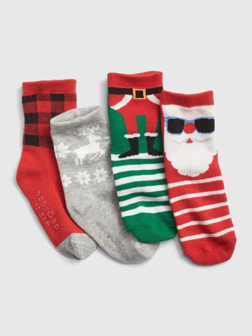 4'lü Desenli Çorap Seti