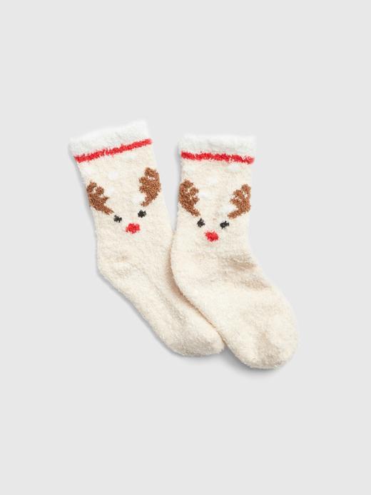 Desenli Yumuşak Dokulu Çorap