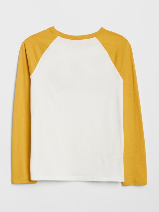Logolu Reglan Kollu T-Shirt