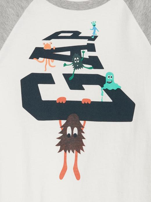 Gap Logo Reglan Kollu T-Shirt