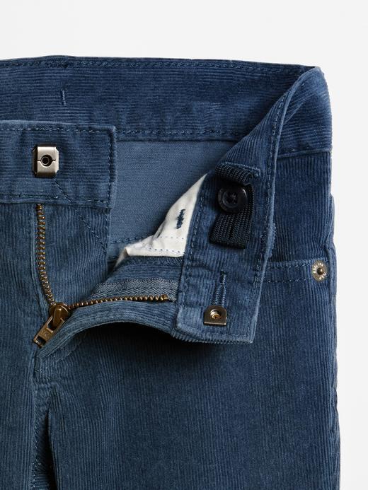 Beş Cepli Slim Kadife Pantolon