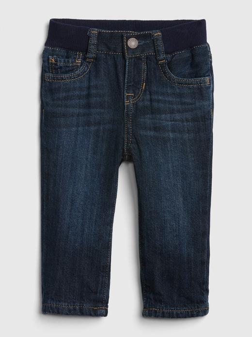 Astarlı Straight Jean Pantolon