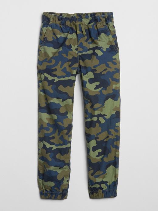 Kamuflaj Desenli Jogger Pantolon