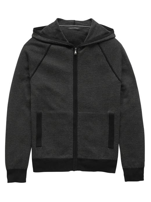 Supima® Pamuklu Fermuarlı Sweatshirt