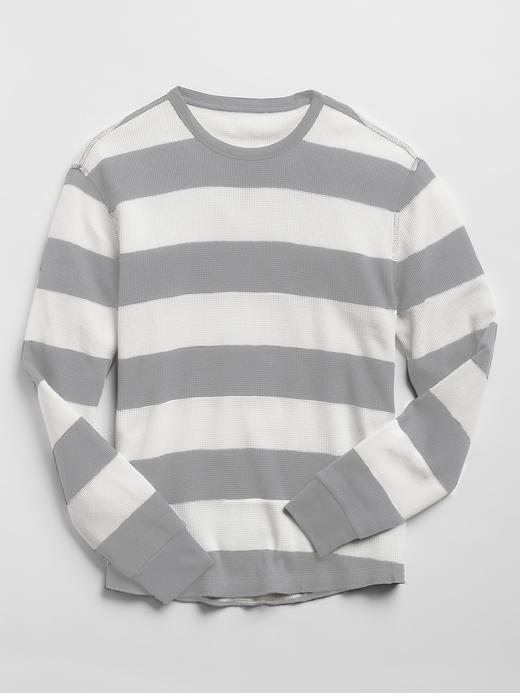 Çizgili Termal T-Shirt