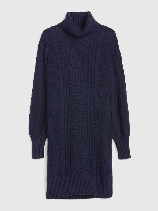 Boğazlı Örgü Kazak Elbise