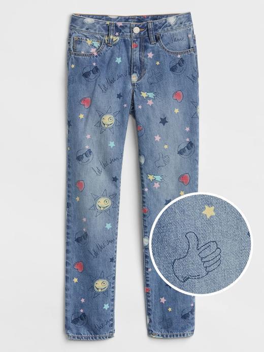 Emoji Desenli Superdenim Fantastiflex Jean Pantolon