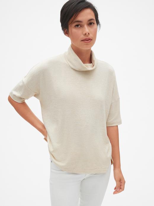 Softspun Kısa Kollu  Şal Yaka T-Shirt